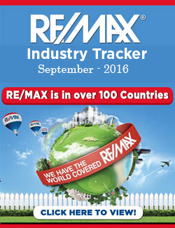 RE/MAX Industry Tracker - September 2016